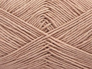 Fiber Content 50% Cotton, 50% Acrylic, Brand Ice Yarns, Antique Pink, Yarn Thickness 2 Fine  Sport, Baby, fnt2-67438