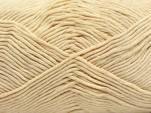 Fiber Content 100% Cotton, Brand Ice Yarns, Cream, fnt2-67441