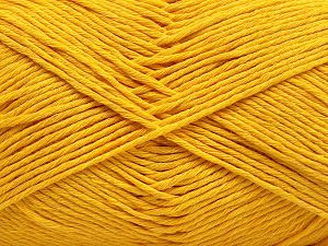 Fiber Content 100% Cotton, Yellow, Brand Ice Yarns, fnt2-67442
