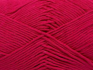 Fiber Content 100% Cotton, Brand Ice Yarns, Fuchsia, fnt2-67455