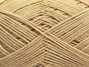 Περιεχόμενο ίνας 67% Βαμβάκι, 33% Πολυαμίδη, Brand Ice Yarns, Dark Cream, Yarn Thickness 2 Fine  Sport, Baby, fnt2-67457