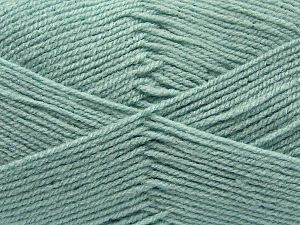 Worsted  Fiber Content 100% Acrylic, Water Green, Brand Ice Yarns, fnt2-67468