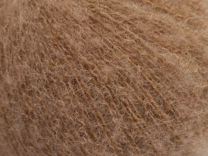 Fiber Content 36% Polyamide, 31% Extrafine Merino Wool, 30% Baby Alpaca, 3% Elastan, Brand Ice Yarns, Antique Pink, fnt2-67479