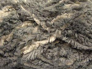 Fiber Content 100% Micro Fiber, Brand Ice Yarns, Grey, Ecru, fnt2-67513