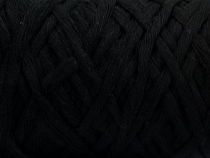 Περιεχόμενο ίνας 100% Βαμβάκι, Brand Ice Yarns, Black, Yarn Thickness 5 Bulky  Chunky, Craft, Rug, fnt2-67520