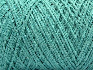 Please be advised that yarn iade made of recycled cotton, and dye lot differences occur. Fiber Content 100% Cotton, Mint Green, Brand Ice Yarns, fnt2-67533