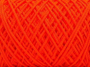 Please be advised that yarn iade made of recycled cotton, and dye lot differences occur. Fiber Content 100% Cotton, Neon Orange, Brand Ice Yarns, fnt2-67536