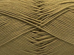 Fiber Content 100% Mercerised Giza Cotton, Light Khaki, Brand Ice Yarns, fnt2-67546