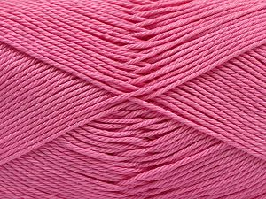 Fiber Content 100% Mercerised Giza Cotton, Pink, Brand Ice Yarns, fnt2-67552