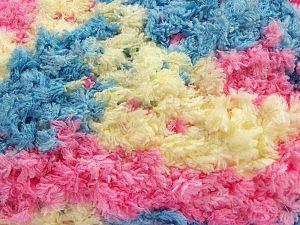 Fiber Content 100% Micro Fiber, Pink, Light Yellow, Brand Ice Yarns, Blue, fnt2-67566