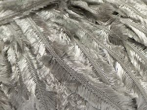 Fiber Content 100% Polyester, Silver, Brand Ice Yarns, fnt2-67584