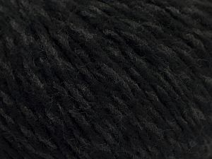 Fiber Content 70% Acrylic, 30% Wool, Brand Ice Yarns, Grey, Black, fnt2-67590