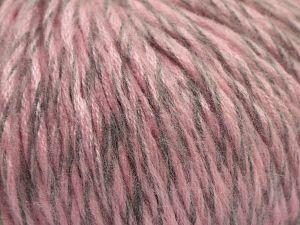 Fiber Content 100% Acrylic, Pink, Brand Ice Yarns, Grey, fnt2-67593