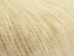 Fiber Content 65% Acrylic, 35% Mohair, Brand Ice Yarns, Ecru, fnt2-67601