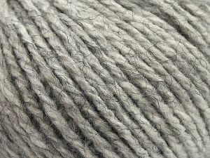 Fiber Content 100% Acrylic, Brand Ice Yarns, Grey Melange, fnt2-67604