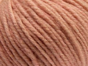 Fiber Content 90% Acrylic, 10% Wool, Light Salmon, Brand Ice Yarns, fnt2-67605