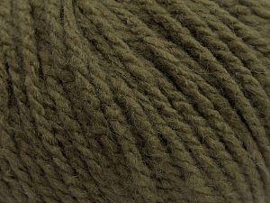 Fiber Content 50% Acrylic, 47% Polyamide, 3% Elastan, Khaki, Brand Ice Yarns, fnt2-67610