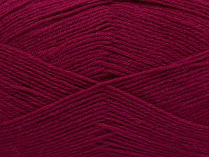 Cold Rinse. Short spin. Do not wring. Cool iron under damp cloth. Cool tumble dry. Dry cleanable. Do not bleach. Fiber Content 65% Wool, 20% Acrylic, 15% Polyamide, Brand Ice Yarns, Fuchsia, fnt2-67636