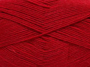 Cold Rinse. Short spin. Do not wring. Cool iron under damp cloth. Cool tumble dry. Dry cleanable. Do not bleach. Fiber Content 65% Wool, 20% Acrylic, 15% Polyamide, Brand Ice Yarns, Dark Red, fnt2-67637