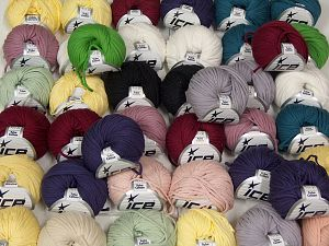Tube Cotton - Tube Cotton Worsted In this list; you see most recent 50 mixed lots. <br> To see all <a href=&/mixed_lots/o/4#list&>CLICK HERE</a> (Old ones have much better deals)<hr> Brand Ice Yarns, fnt2-67696