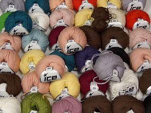 Tube Cotton In this list; you see most recent 50 mixed lots. <br> To see all <a href=&/mixed_lots/o/4#list&>CLICK HERE</a> (Old ones have much better deals)<hr> Fiber Content 70% Cotton, 30% Polyester, Brand Ice Yarns, fnt2-67697