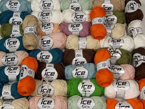Pure Cotton - Tube Cotton Fine In this list; you see most recent 50 mixed lots. <br> To see all <a href=&/mixed_lots/o/4#list&>CLICK HERE</a> (Old ones have much better deals)<hr> Brand Ice Yarns, fnt2-67699