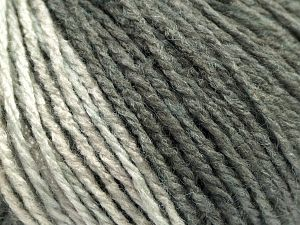 Fiber Content 100% Acrylic, Brand Ice Yarns, Grey Shades, Black, fnt2-67734