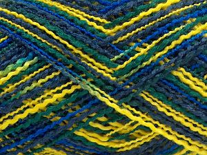 Fiber Content 100% Acrylic, Yellow, Navy, Brand Ice Yarns, Blue, fnt2-67745