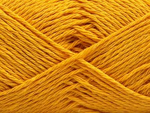 Fiber Content 50% Cotton, 50% Acrylic, Yellow, Brand Ice Yarns, fnt2-67759