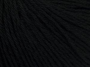 Fiber Content 50% Acrylic, 50% Wool, Brand Ice Yarns, Black, fnt2-67768