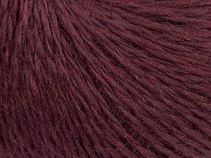 Fiber Content 50% Acrylic, 50% Wool, Maroon, Brand Ice Yarns, fnt2-67769
