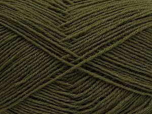 Fiber Content 75% Superwash Wool, 25% Polyamide, Khaki, Brand Ice Yarns, fnt2-67778