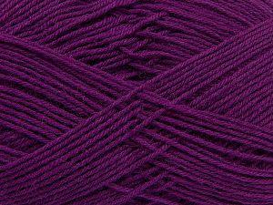 Fiber Content 75% Superwash Wool, 25% Polyamide, Purple, Brand Ice Yarns, fnt2-67780