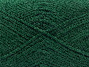 Worsted Fiber Content 100% Acrylic, Brand Ice Yarns, Dark Green, fnt2-67797