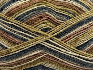 Fiber Content 75% Superwash Wool, 25% Polyamide, Jeans Blue, Brand Ice Yarns, Green, Cream, Camel, fnt2-67807