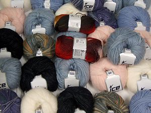 Lux Winter Yarns In this list; you see most recent 50 mixed lots. <br> To see all <a href=&/mixed_lots/o/4#list&>CLICK HERE</a> (Old ones have much better deals)<hr> Brand Ice Yarns, fnt2-67820