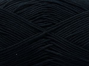 Περιεχόμενο ίνας 100% Βαμβάκι, Brand Ice Yarns, Black, Yarn Thickness 2 Fine  Sport, Baby, fnt2-67868
