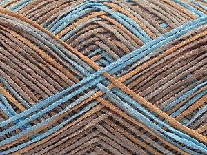 Fiber Content 88% Acrylic, 12% Nylon, Turquoise, Brand Ice Yarns, Camel Shades, fnt2-67897