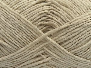 Fiber Content 50% Cotton, 50% Acrylic, Brand Ice Yarns, Ecru, fnt2-67904