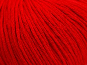 Fiber Content 50% Acrylic, 50% Cotton, Red, Brand Ice Yarns, fnt2-67909