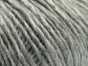 Fiber Content 60% Acrylic, 28% Nylon, 12% Wool, Light Grey, Brand Ice Yarns, fnt2-67911