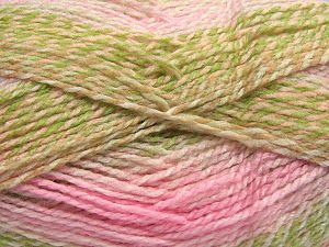 Fiber Content 100% Acrylic, White, Light Pink, Brand Ice Yarns, Green, Camel, Beige, fnt2-67940
