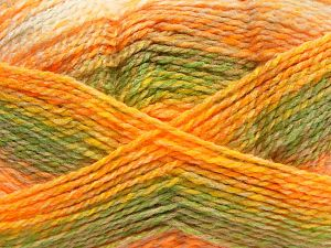 Fiber Content 100% Acrylic, Yellow, White, Orange, Brand Ice Yarns, Green, Camel, fnt2-67944