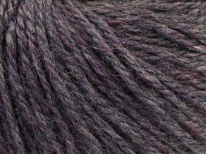 Fiber Content 8% Viscose, 54% Acrylic, 20% Wool, 18% Alpaca, Purple, Brand Ice Yarns, Grey, fnt2-67978