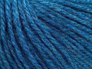 Fiber Content 8% Viscose, 54% Acrylic, 20% Wool, 18% Alpaca, Turquoise, Brand Ice Yarns, fnt2-67981