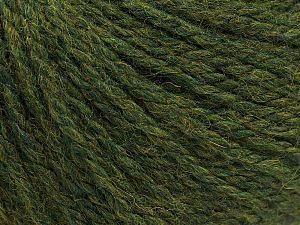Fiber Content 8% Viscose, 54% Acrylic, 20% Wool, 18% Alpaca, Jungle Green, Brand Ice Yarns, fnt2-67982