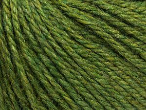 Fiber Content 8% Viscose, 54% Acrylic, 20% Wool, 18% Alpaca, Brand Ice Yarns, Green, fnt2-67983