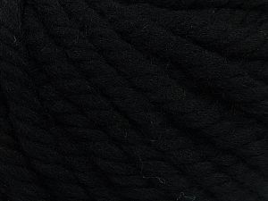 Fiber Content 100% Wool, Brand Ice Yarns, Black, fnt2-68002
