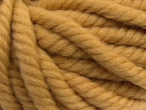 Fiber Content 100% Wool, Milky Brown, Brand Ice Yarns, fnt2-68003
