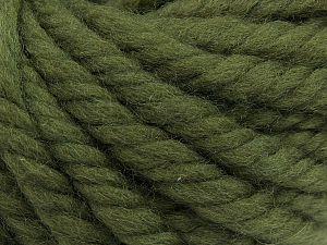 Fiber Content 100% Wool, Khaki, Brand Ice Yarns, fnt2-68007